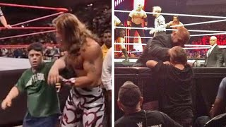 10 Heart Warming Times WWE Wrestlers Broke Character When Upsetting A Fan