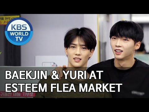 Baekjin and Yuri at Esteem flea market [Boss in the Mirror/ENG/2020.01.26]