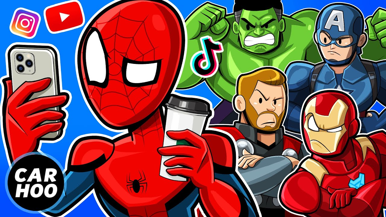 Download WHAT IF SPIDER-MAN WAS A YOUTUBER