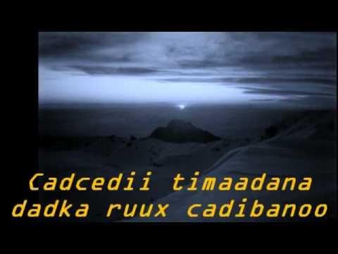 CAASHAQA HA BAAYICIN (Lyrics)