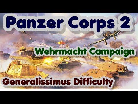 Panzer Corps 2 | C1-12E | Wehrmacht Campaign | Kasserine 2/2 | Generalissimus |