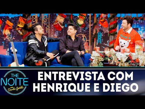 Entrevista com Henrique e Diego | The Noite (19/12/18)