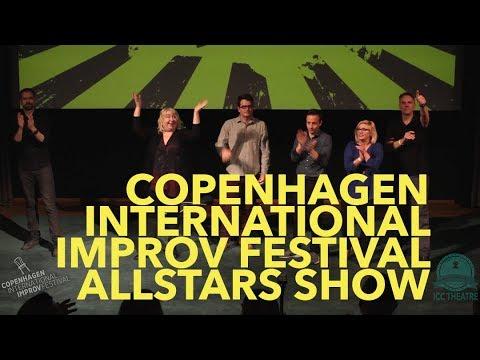 Copenhagen International Improv Festival | Allstars Show | CIIF18