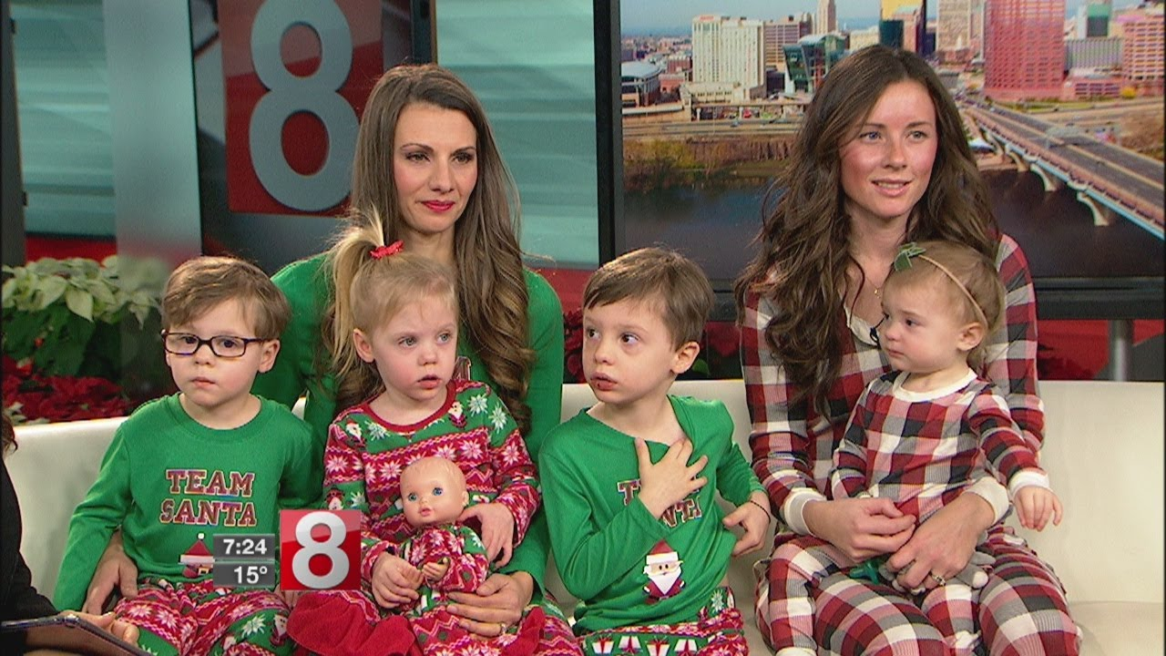Christmas Jammies for the Whole Family - YouTube