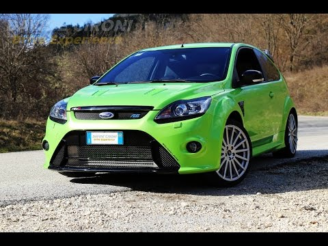 Ford Focus RS Mk2 - Davide Cironi Drive Experience (ENG.SUBS)
