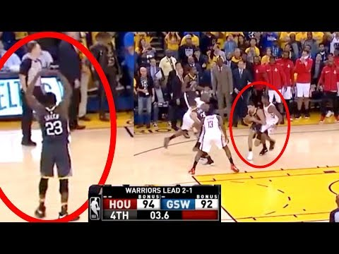 Ref Ignores Draymond Green's Time Out Call | Last 4 Seconds