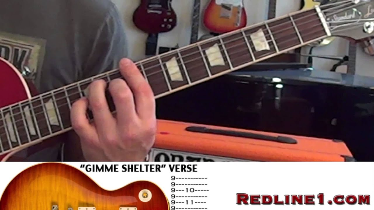 Tabs How To Play The Rolling Stones Gimme Shelter Guitar Lesson