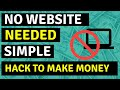 How To Make Money Online With ClickBank - No Website Or Outlay 💲🤑🔥