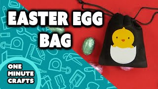 EASTER EGG BAG - One Minute Crafts
