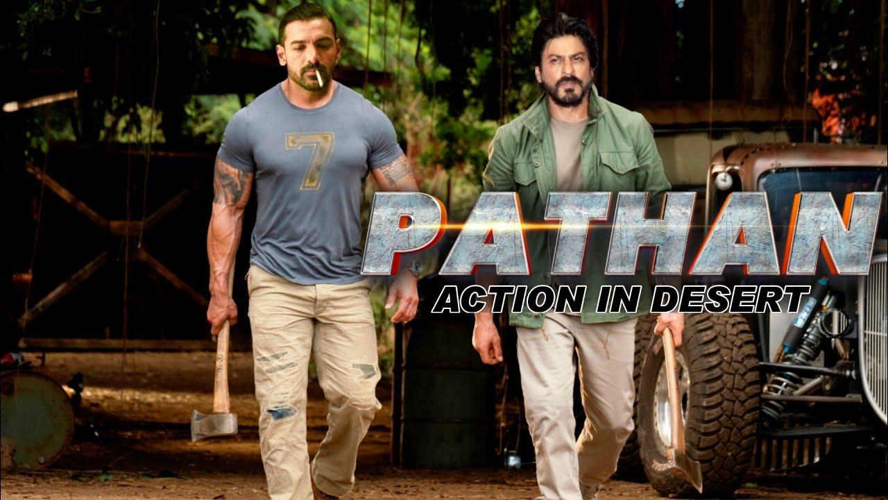 Download Pathan Action In The Desert || Shahrukh Khan || John Abraham || Deepika Padukone
