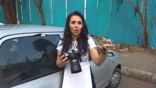 Behind The Scenes I Modelshoot -  Vishakha Sodha