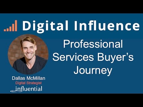 Digital Influence - Professional Services Buyer's Journey