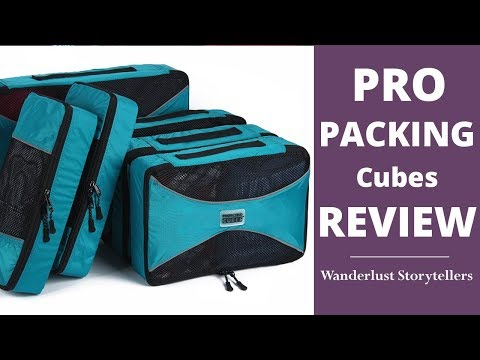 The Ultimate Pro Packing Cubes Review | Wanderlust Storytellers