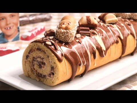 Brazo de Gitano de Kinder | Cake Roll