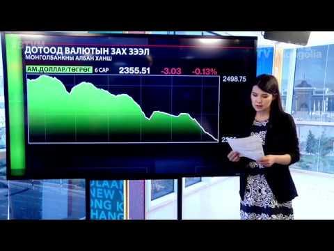 Дотоодын валютын зах зээл - 2017.06.23