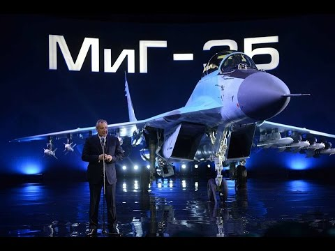IMPRESSIVE: MIG Officials Report to Putin on New Fighter MIG-35 (ENG SUB)