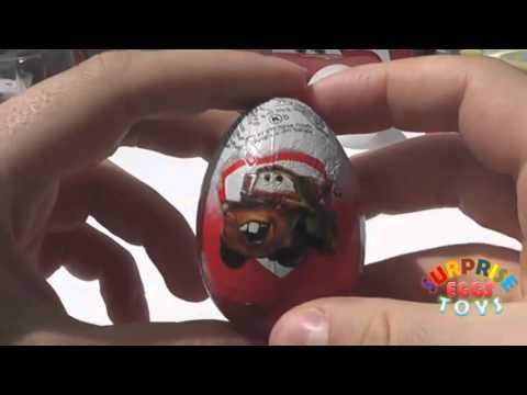 Surprise Eggs Toys Disney Unboxing Surprise Eggs Disney Collector 2016