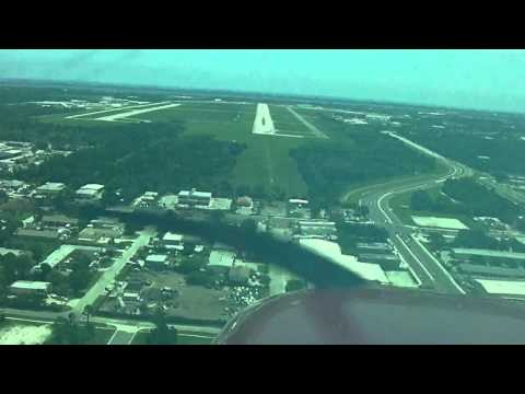 Cessna 172 ILS approach and landing | Melbourne Int'l | KMLB