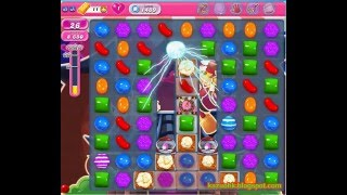 Candy Crush Saga - Level 1489 (3 star, No boosters)
