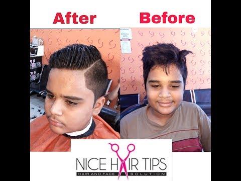Nice Hair Tips cross spike hair cut on demand