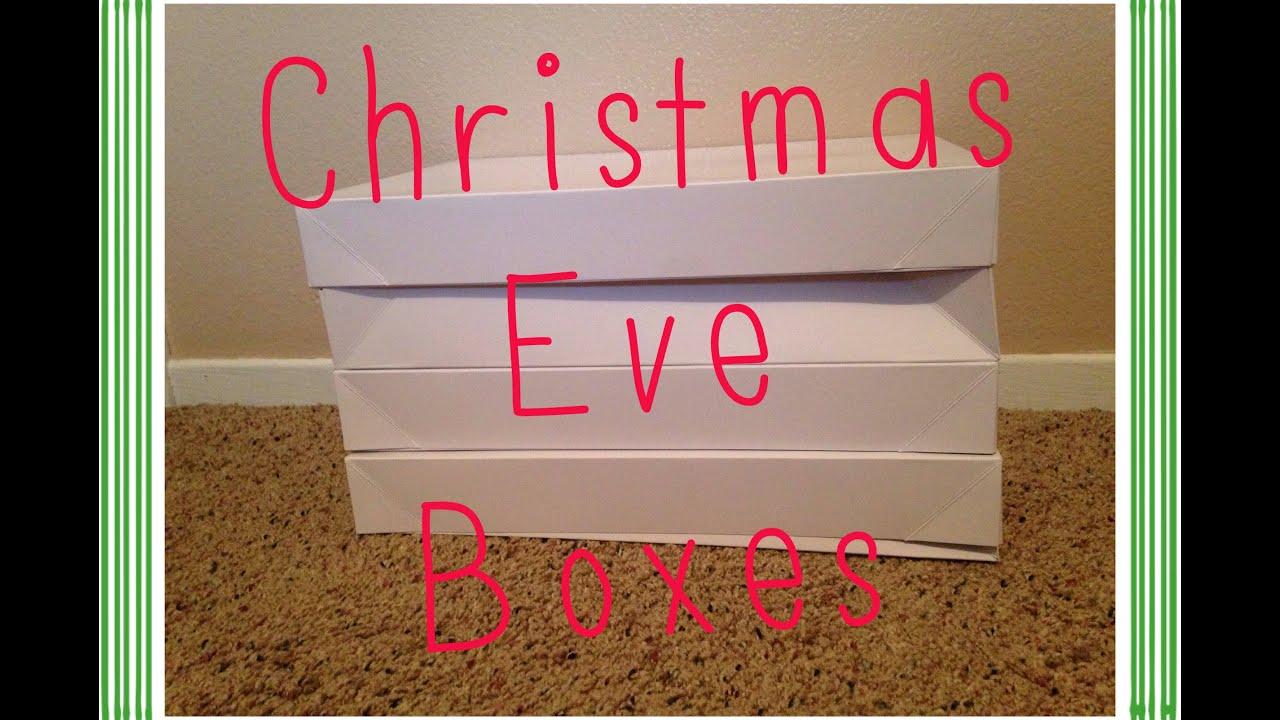 christmas eve box ideas youtube
