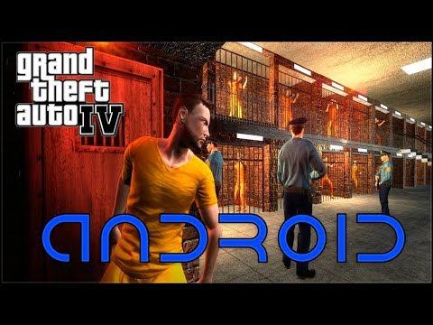 СБЕГАЮ ИЗ ТЮРЬМЫ В ГТА 4 НА АНДРОИД! GTA 4 ON ANDROID PRISON ESCAPE