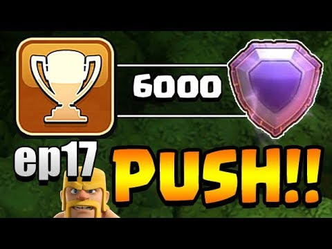 I RECORDED A VIDEO WHILE STREAMING!  TH11 Trophy Push to Top 200 ep17 | Clash of Clans