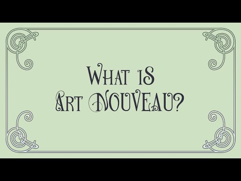 What Is Art Nouveau?