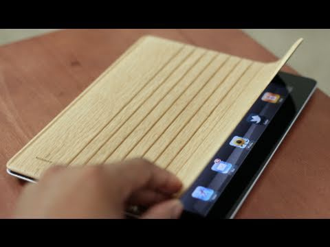 Review: Wooden IPad 2 Smart Cover (Miniot)