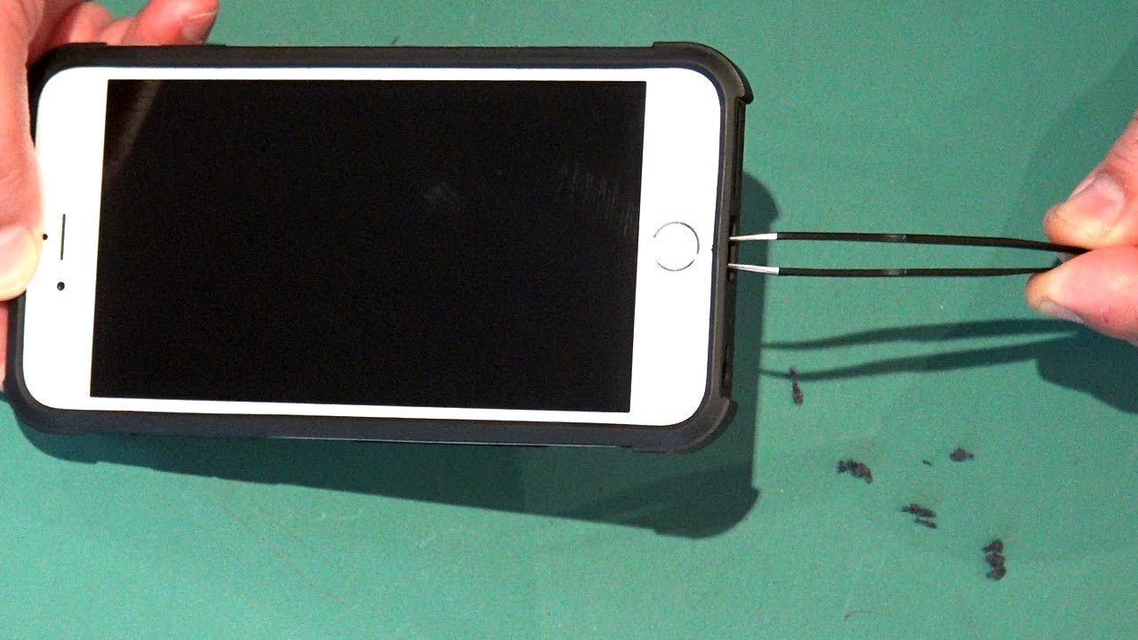 How To Fix Clean Iphone Charging Port