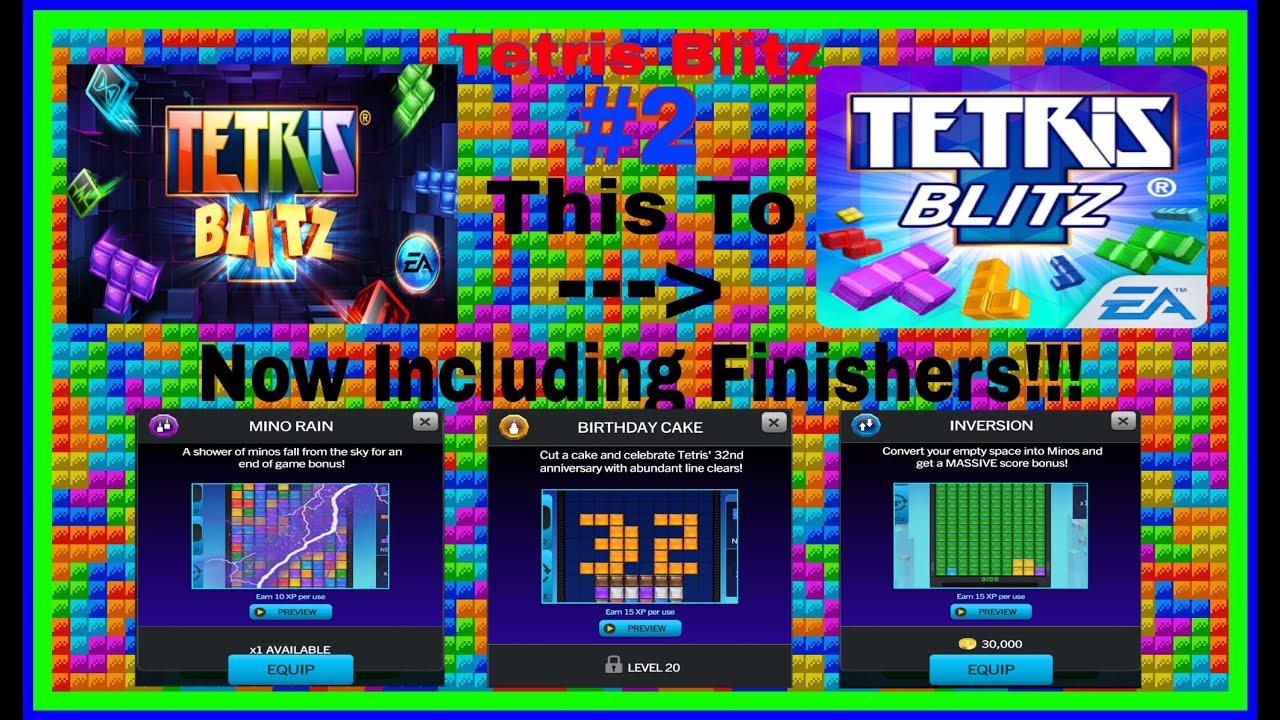 THESE FINISHERS THO Tetris Blitz  NEW UPDATE YouTube - Tetris birthday cake