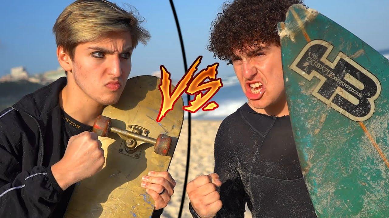 SKATE vs SURF