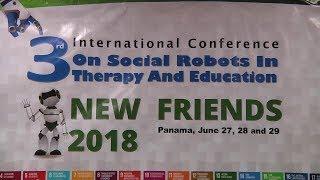 Inauguran Conferencia Internacional sobre Robótica Social en la UTP