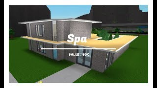 Spa | SpeedBuild | ROBLOX Bloxburg