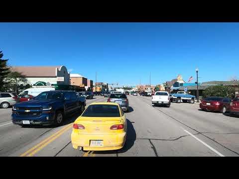 4K Driving from Pringle to Custer, South Dakota