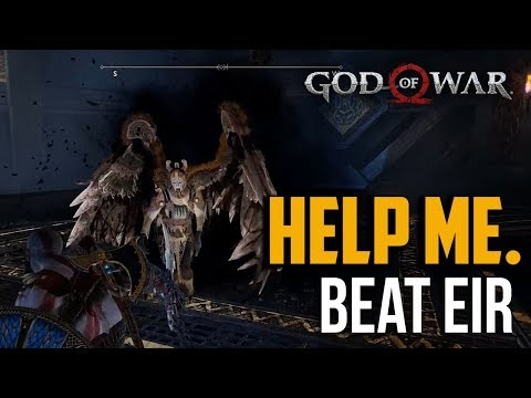 God of War PS4 : How to Beat Eir Valkyrie Fight