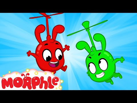 Morphle and Orphle's Crazy Playdate | Cartoons For Kids | Sandaroo Kids Channel