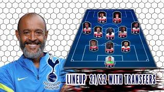 Tottenham Hotspur Potential Lineup 21/22 With Transfers! Feat Bryan Gil l Pierluigi Gollini