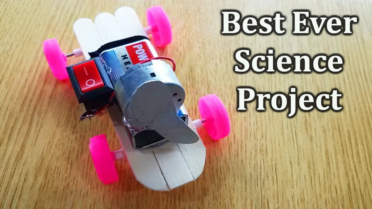 Easy science fair projects to do at home