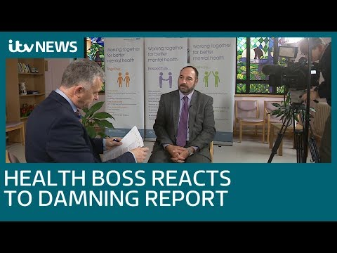 Health Boss reacts to CQC report - watch the full interview | ITV News