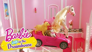 Een koud bad | Barbie LIVE! In The Dreamhouse | Barbie