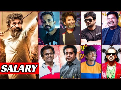 20 South Indian Highest Paid Director List 2021 | Telugu, Tamil, Kannada, South Director Salary