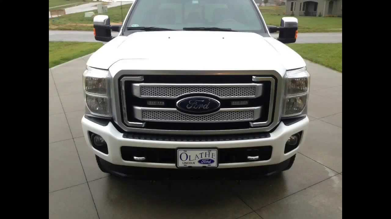 2013 Ford F 250 Super Duty Platinum Strobe Lights Ecco