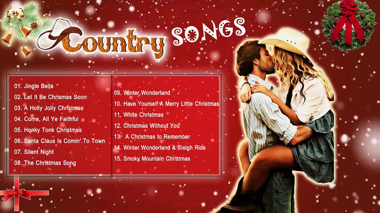 romantic country christmas songs