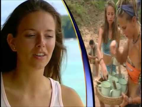 Amber Brkich Mariano exclusive  PREGAME  for Survivor AllStars