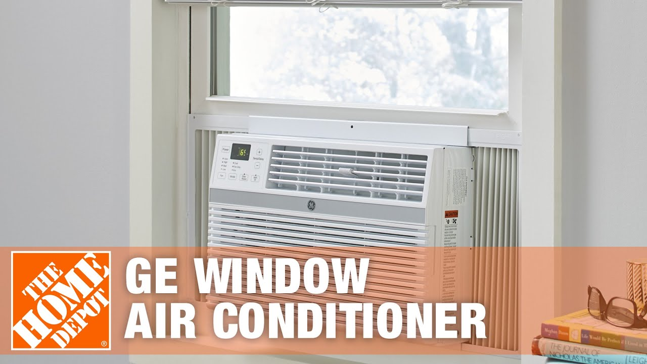 GE 6300 BTU Window Air Conditioner with Remote The Home Depot