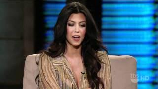 Kourtney Kardashian on Lopez Tonight 2/1/11
