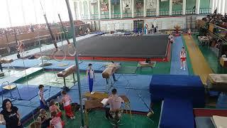 Спортивная гимнастика. 3 разряд. 28.04.18. Арефьев Егор(5)