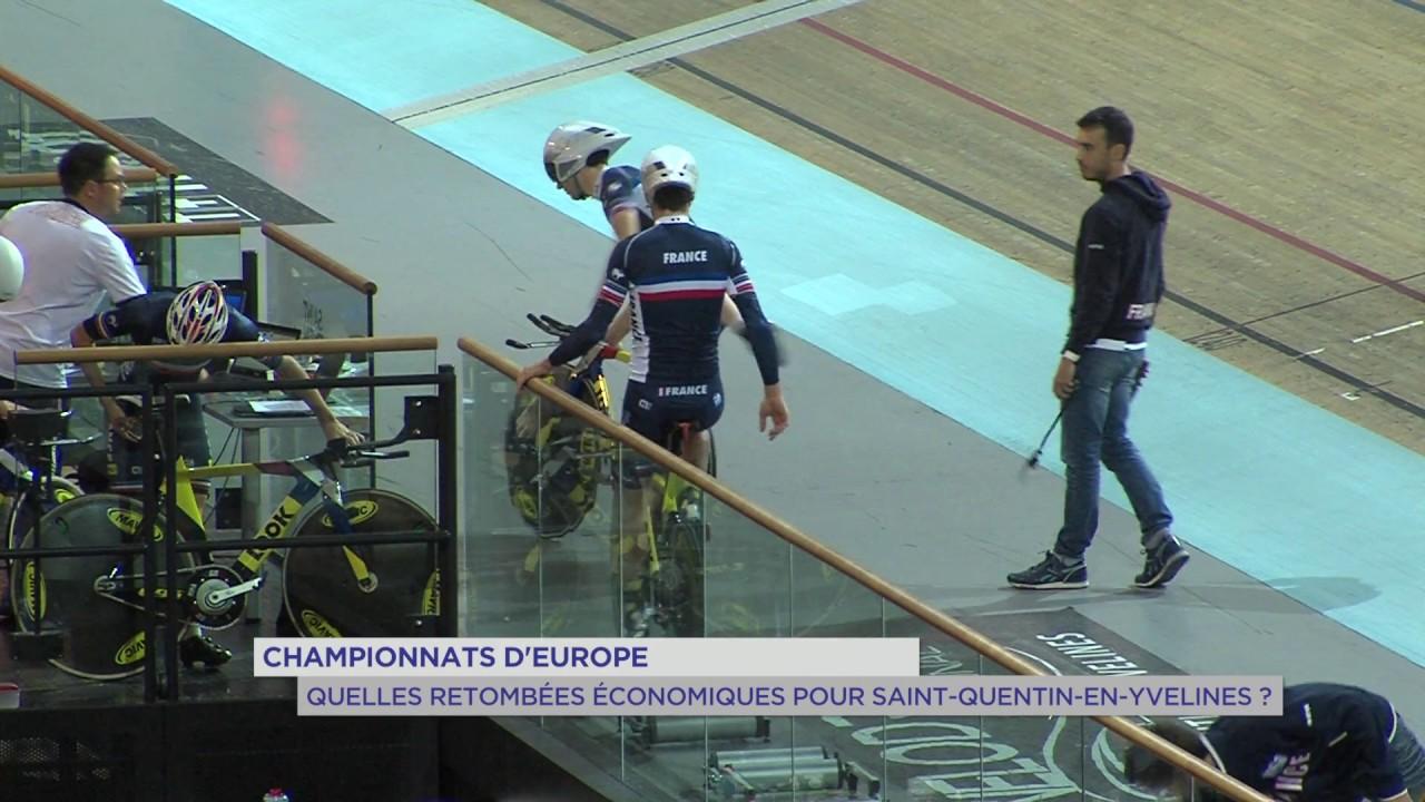 Championnat d'Europe sur piste : les retombées pour SQY