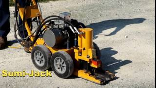 Sumi-Jack heavy machinery moving device, toe jack, skates,roller,1